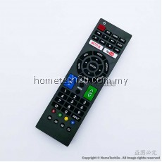 SHARP LCD LED 3D NETFLIX SMART TV Remote Control Replacement