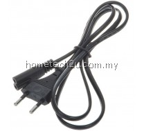 2 Pin AC Power Cord Cable 1.5m For Laptop Radio CD Player Charger