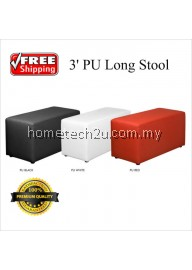 Mary 3' PU Long Stool