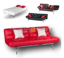 CLO Mini Alpha 3 Seaters PU Sofa Bed With Recline Function