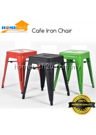Modern Designer Hotel Restaurant Metallic Iron Chair Bar Chair Bar Stools Cafe Shop Decoration