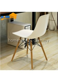 Luxury Modern Leisure Cafe Restaurant PP Dining chair (White)