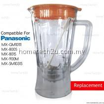 OEM Blender Jug Compatible For Panasonic Model MX-SM1031 MX-GM10111 MX-800S MX-801S